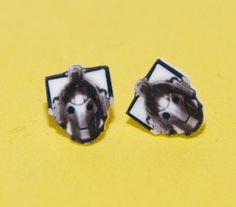 Doctor Who Cybermen Earrings