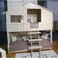 tree house bunk bed plans pertaining to Residence Bunk Beds Uk, Cabin Bunk Beds, Modern Bunk Beds, Loft Beds, Tree House Bunk Bed, House Beds, Tree House Accessories, Kids Bed Frames, Bunk Bed Plans