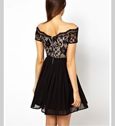Lace Dress. So chic!