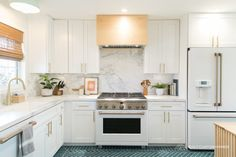 Mid Century Modern Before And After Home Kitchen Tile, Kitchen Flooring, Kitchen Decor, Kitchen Design, Kitchen Cabinets, Kitchen Ideas, Countertop Decor, Countertops, House Seasons