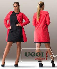 Elegant Woman Cardigan Atlas-Jacquarette Long Sleeve Plus size- Autumn Collectio #Unbranded #BasicJacket