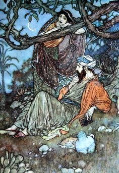 Rubaiyat of Omar Khayyam, rendered into English verse by Edward Fitzgerald. Published: Hodder and Stoughton. n.d. (1920)