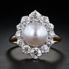 antique pearl ring - Google Search