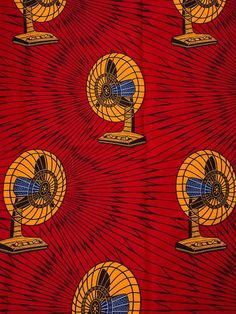 Real Wax African Fabrics 100 Cotton Fabric by Africanpremier, $24.99