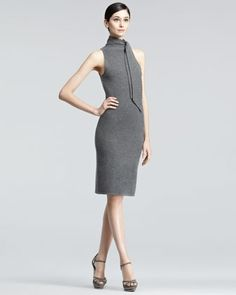 Sleeveless Cashmere Dress by Ralph Lauren Black Label at Neiman Marcus.