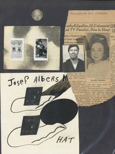 collage by ray johnson