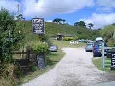 SMUGGLERS REST CAFE.TALLAND BAY.Cornwall