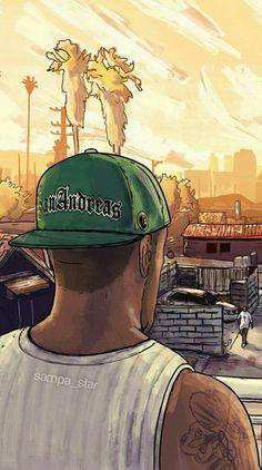 Grand Theft Auto, Gaming Wallpapers, Cute Wallpapers, Gta Vi, Anime Zone, San Andreas Gta, Cute Black Wallpaper, Estilo Cholo, Mercury Cars