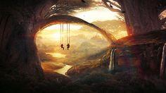 Tree swing by t1na.deviantart.com on @deviantART