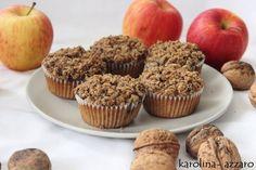 karolina-azzaro: Jablkové Cupcakes s posýpkou