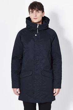Oscar Dark Navy, Hooded Jacket, Raincoat, Winter Jackets, Athletic, Shopping, Style, Fashion, Jacket With Hoodie