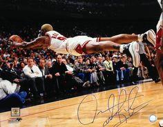 Chicago Bulls Dennis Rodman Signed 'Dive' Photo on sale not for $69!!
