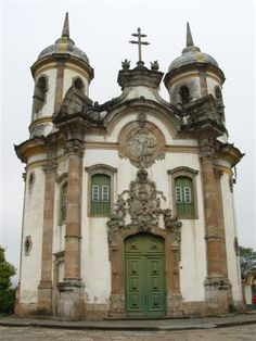 Charles Fonseca: Arquitetura barroca. Ouro Preto. Brasil.