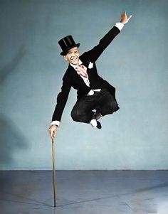 Fred Astaire in an incredible shot for Life. -born on the 10th of May