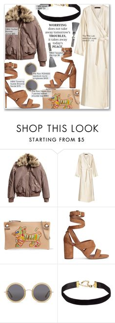"""""""LFW-SS17-2: The Row ft. H&M"""" by nindi-wijaya ❤ liked on Polyvore featuring The Row and H&M"""
