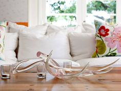contemporary accessories and decor by Greige Deer antlers Rustic Chic Decor, Country Decor, Velvet Pumpkins, Oh Deer, Deer Antlers, Formal Living Rooms, Home Decor Furniture, Decoration, Home Gifts