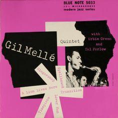 Gil Melle Quintet Blue Note - 10-inch LP