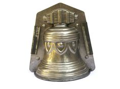 Vintage French Chocolate Bell Mold. by LeBonheurDuJour