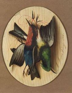 Michelangelo Meucci (Italian, 1840-1890) Still Life with Game Birds