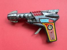 Space Gun | Vintage and Retro Space Age Raygun, Rocket and Robot Toys