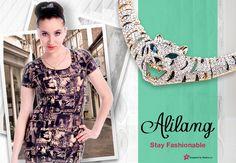 Anna-Kaci Fashion Graphic Print Dress
