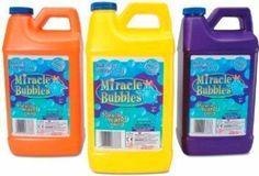 Miracle Bubble Jar 64 Oz Refill Liquid Soap Bubbles Formula New FREE SHIPPING #Darice