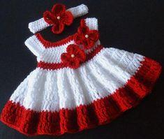 Crochet baby dress crochet baby outfit red baby dress coming home outfit baby shower gift dress Crochet Vest Pattern, Crochet Patterns, Jupe Tutu Rose, Vestidos Bebe Crochet, Baby Dress Patterns, Crochet Baby Clothes, Crochet Outfits, Baby Outfits, Baby Girl Newborn