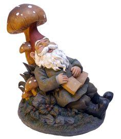 Design Toscano Snoozing Booker the Garden Gnome Statue