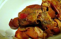 Crockpot Apple Pork Tenderloin