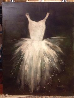 Discover recipes, home ideas, style inspiration and other ideas to try. Art Ballet, Ballerina Painting, Ballerina Tutu, Watercolor Art Paintings, Easy Paintings, Abstract Paintings, Acrylic Art, Acrylic Painting Canvas, Abstract Canvas