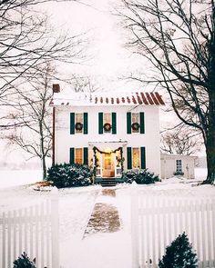 The prettiest little Christmas scene
