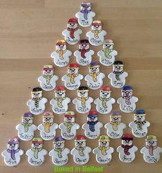 Personalised Snowman Decoration £4.50