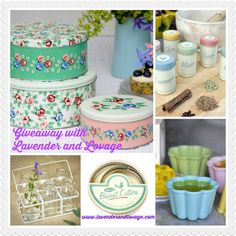 Lavender and Lovage | Giveaway: Win a Retro Bundle of DotComGiftShop Kitchen and Baking Goodies RRP: £40 | http://www.lavenderandlovage.com