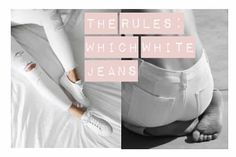 Read this before you shop for jeans. Best White Jeans, White Denim, The Chic, Feeling Great, How To Know, Body Shapes, Ballet Shoes, Cool Style, Black And White