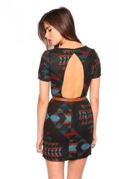 Navajo Cutout Dress