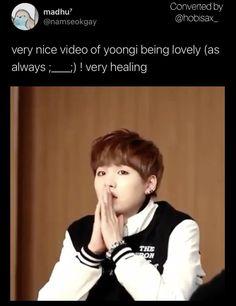 Bts Aegyo, Min Yoongi Bts, Bts Jimin, Min Suga, Bts Memes Hilarious, Bts Funny Videos, Min Yoonji, Bts Tweet, Bts Concert