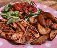 Sugar Pink Food: Slimming World Recipe:- Mexican Turkey Steaks & He...