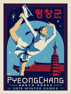 Anderson Design Group – World Travel – 2018 Winter Games: PyeongChang, South Korea: Skater