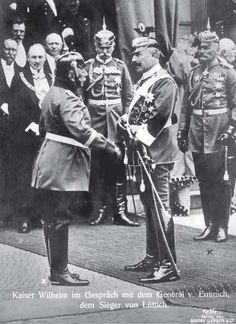 Who was Kaiser Wilhelm II, and what role did he play during World War I?