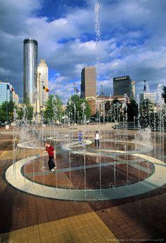 Centinial Olympic Park, Atlanta, Georgia