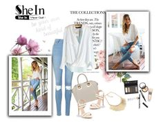"""SheIn"" by smajicelma ❤ liked on Polyvore featuring Topshop, Borghese and PBteen"