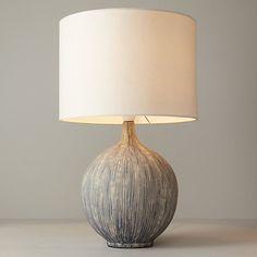 Buy John Lewis Ebony Slate Table Lamp Online at johnlewis.com