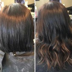 Wanna go from #shorthair to #longhair in a snap?! @taymccarty shows us how #easy it is with these #balayage @hotheadshairextensions  just in time for #summer!