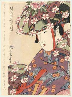 """fujiwara57:  """" Kitagawa Utamaro 喜多川 歌麿 (1753 - 1806)."""""""