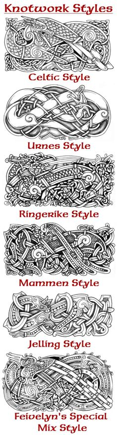 well, didn't really draw any knotwork recently so. celtic/norse mix style again Knotwork Dragon X Viking Symbols, Viking Art, Mayan Symbols, Egyptian Symbols, Viking Runes, Ancient Symbols, Celtic Tattoos, Viking Tattoos, Warrior Tattoos