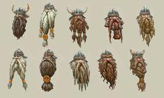 Archivo:Cabezas de Guerreros Enanos arte conceptual Warhammer Total War.jpg