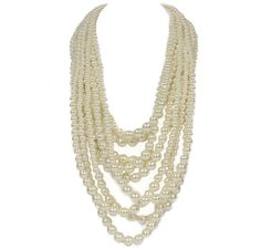 Bella Divine Necklace in Cream | Impressions Online Women's Clothing Boutique #shopimpressions