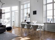 Un appartement contemporain à la déco scandinave