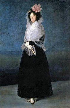 Francisco José de Goya y Lucientes (Spanish painter, 1746–1828) Marquesa de la Solanan 1794-95