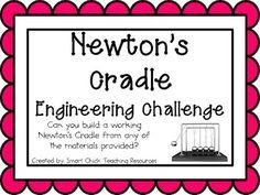 Newton's Cradle: Engineering Challenge Project ~ Great STE
